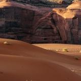 Dunes at Monument Valley Utah