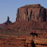 Lonesome Cowboy Monument Valley Utah
